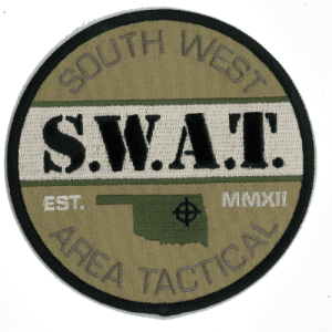 South West Area Tactical Team Patch