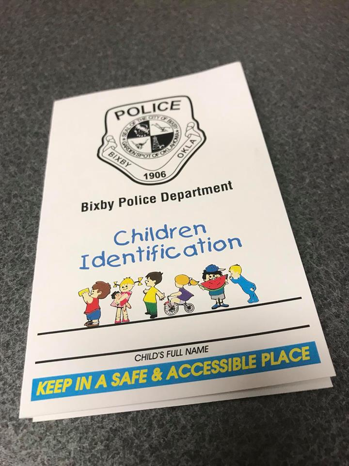 Child Identification Packet