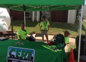 CERT Outdoor Booth